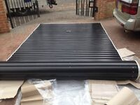 Gliderol Black Garage Roller Shutter 235cm x 310cm