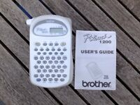 Brother P-Touch 1200 Handheld Label Printer