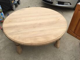 Nice solid wooden coffee table
