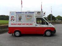 mk 3 ford transit ice cream van