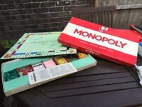 Monopoly board game 1961 addition