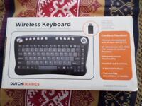 WIRELESS KEYBOARD BRAND NEW NEVER USED