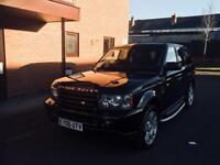 2006 Range Rover Sport 2.7 D HSE Auto Black cheap.