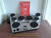 Electric drums, Yamaha DD-65/YDD-60 digital percussion system.