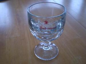 VINTAGE BUDWEISER BEER GLASSES