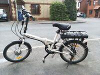 Wisper 806 Folding Electric Bike