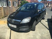 Vauxhall Zafira 2006 Black, PCO Licensed Car! 7 seated used car for sale!