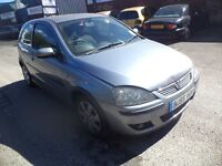 2005 Vauxhall Corsa 1.2 Petrol 16V 3 Door Hatchback Silver. Mileage 137K with 1 month MOT.