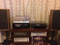 REDUCED SUPERB SANSUI SEPERATES