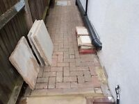 MARSHALLS Multi Coloured Indian Sandstone Paving Stones