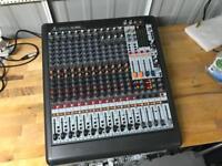 Behringer XL1600 Xenyx Large Format live sound Mixer