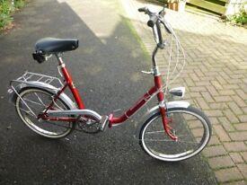 Unisex Folding Bike