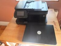 Dell Inspiron 1525 Laptop and HP Photosmart 7510 Printer