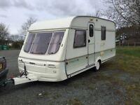 1993 Swift pirouette 4 Birth Caravan
