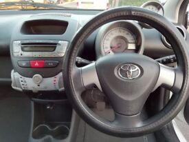 Toyota Aygo VVT-I Fire 1.0cc Manual Petrol 2012 5 door for sale