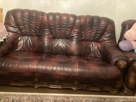 Very cheap Leather sofa 7seats