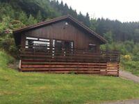 Timber framed lodge for sale