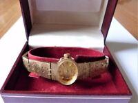 Ladies Vintage *Sekonda Dress * Watch, Hand Winding With 17 Jewels with Designer Bracelet.