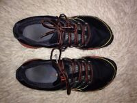 Merrell size 7 black and red Trainers