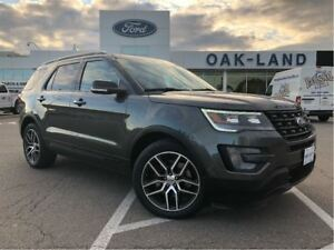 2017 Ford Explorer Sport,Ext Warranty Inc+Fin From 0.9%