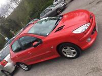 Peugeot 206 1.4 16valve Sport **12Month MOT**