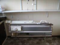 Chunky Knitting Machine Brother KH260 plus KR260 Ribber