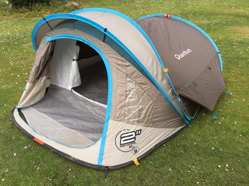 Quechua 2 Seconds XL Air 2 Person Popup Tent | in Belfast ...