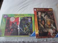 Ravensburger Jigsaw Puzzles - Pirates of Caribbean & Mutant Turtles