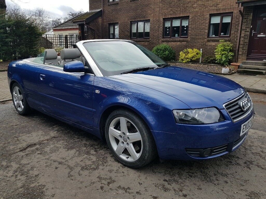 2003 (03) Audi A4 Cabriolet 2.4 V6   in Clydebank, West Dunbartonshire   Gumtree