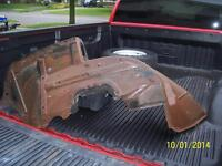 1957 CHEV BELAIR CONVERTIBLE TOP PUMP AND MOLDINGS