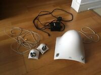 JBL Creature 3 piece Speakers full setup good condition