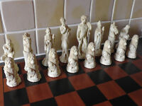 Chess Set & Chess Board - £60 or Best Offer