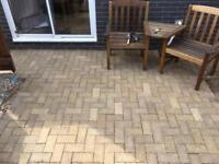 Block paving pavers patio stones driveway