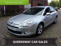 2008 CITROEN C5 VTR+,1.6 HDI,110 BHP,SERVICE HISTORY,HPI CLEAR,LONG,MOT,WARRANTY INCLUDED,P/X...
