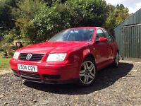 2004 VOLKSWAGEN BORA HIGHLINE SPORT TDI RED 150 PS ARL 6 SPEED FULL MOT