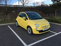 2011 FIAT 500 1.2 LOUNGE AUTOMATIC ONLY 36000 MILEAGE