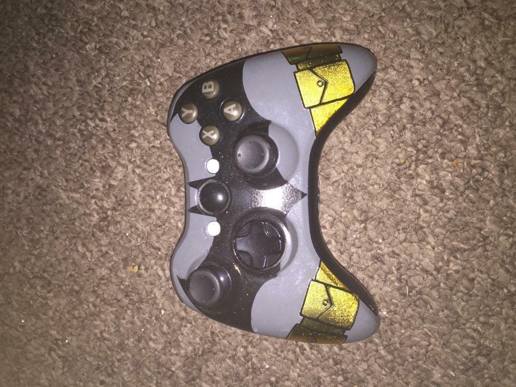 Xbox 360 custom batman controller