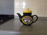 Marmite Tea Pot