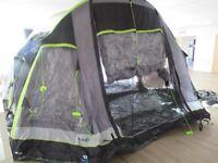 Hi Gear Airgo Cirrus 6 Birth Large Family & Friends Airbeam Tent & Pump New & Unused RRP £849