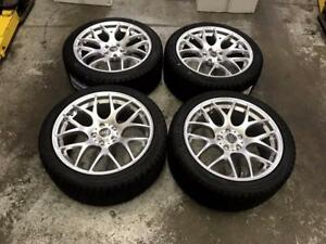 18 VMR Style Wheels 5x112 and Winter Tires 245/40R18 (Audi Cars) Calgary Alberta Preview