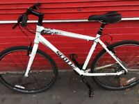Scott hybrid bike ride mint