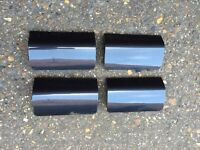 Ford Fiesta ST JACK POINT COVERS Grey (02 - 08) Zetec S Breaking Spares sideskirts jacking mk6