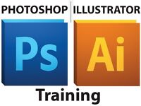 Adobe Photoshop & Illustrator, Private Software Training one to one tuition classes