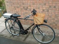 A Gentleman's Electric Bicycle