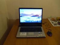 Laptop Stone, windows 10, 320GB HDD 2GB RAM plus USB mouse