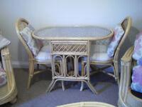 Quality, Leekes Rattan Furniture set, suit living room or conservertory.