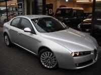 ALFA ROMEO 159 2.4 JTDM Lusso 4dr (silver) 2007