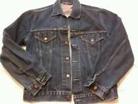 Levis 501 dark blue jacket