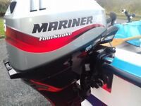 MARINER 15 HP FOUR STROKE LONG SHAFT OUTBOARD 2008