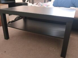Brand new coffee table black - 118 x 78 cm